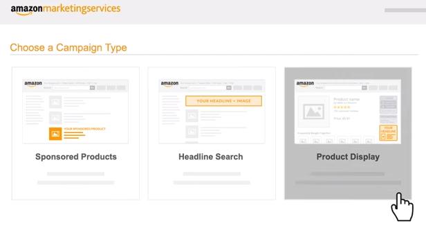 amazon product display ads used