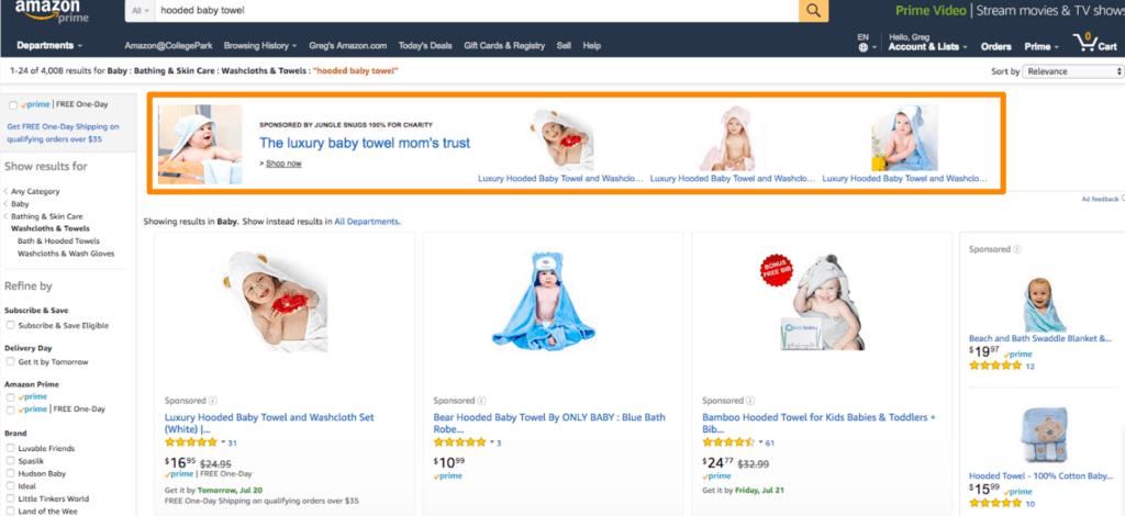 Amazon Headline Ads
