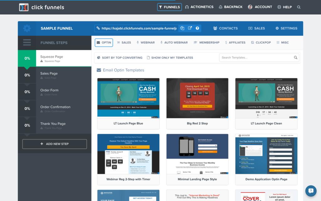 clickfunnels examples