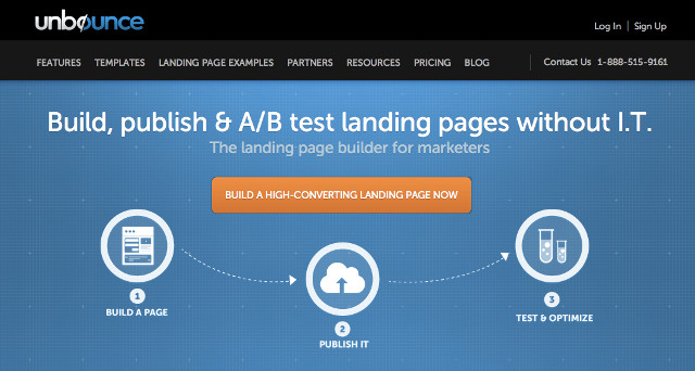 unbounce verse leadpages