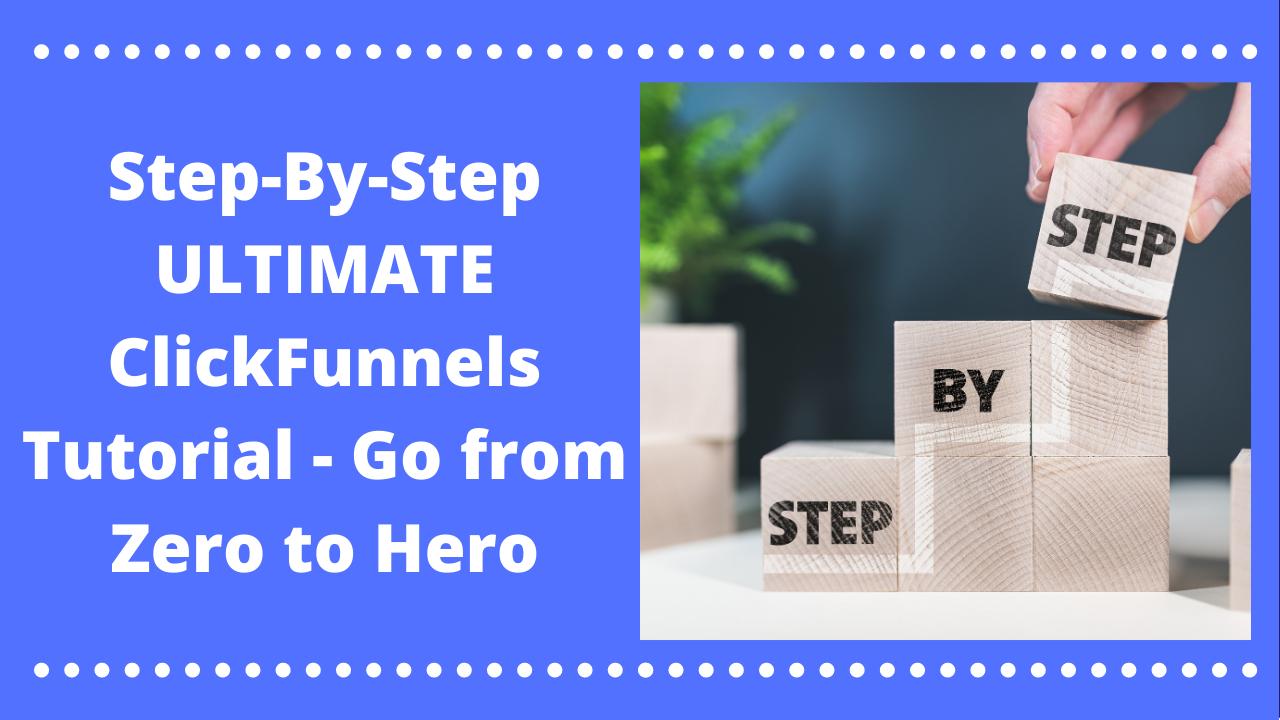 click funnels tutorial